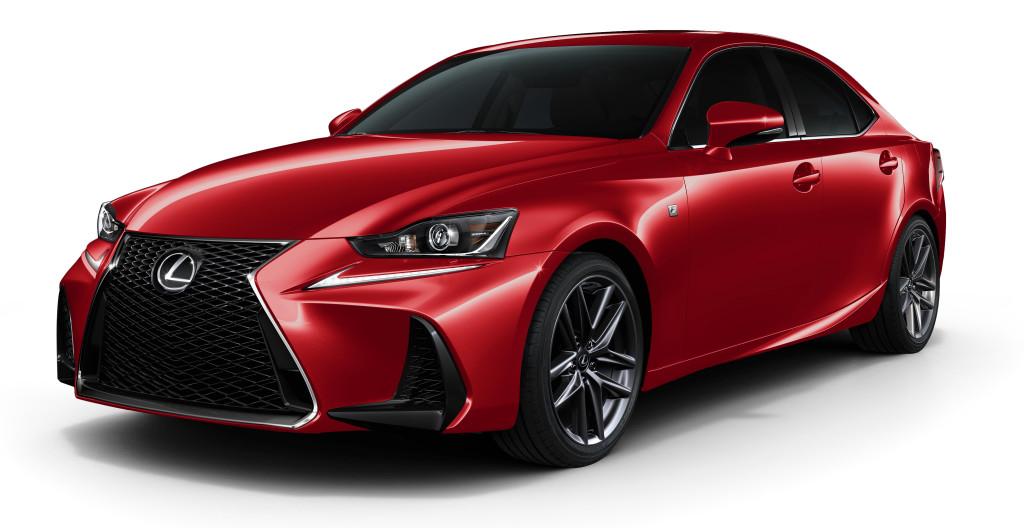 2017 Lexus IS F Sport
