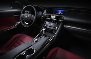 Updated 2017 Lexus IS Edmonton interior