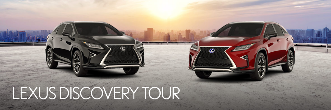 Lexus Discovery Tour Edmonton