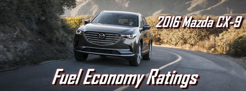 2016 Mazda CX 9 Drivetrain Options And Gas Mileage