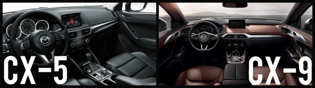 compare the 2016 mazda cx-5 and cx-9 | mazda of manchester