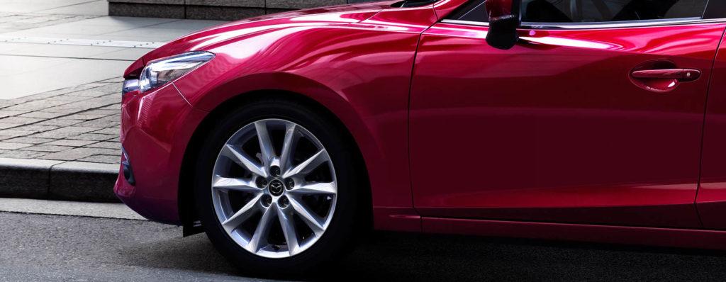 2017 Mazda3 side