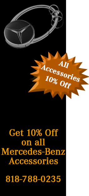 10% Off Mercedes Accessories