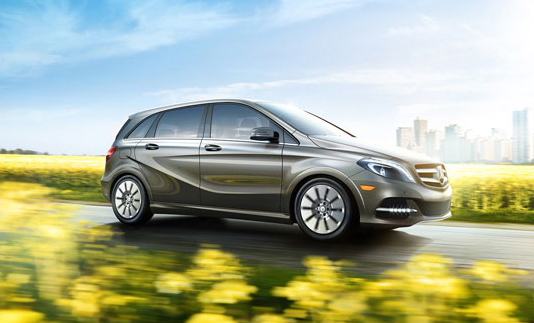 2015 Mercedes B-Class Electric Drive in Encino Los Angeles