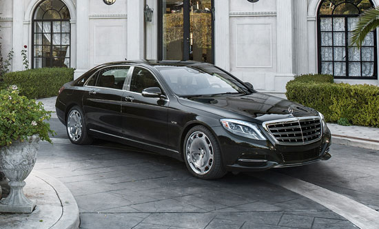 2016 Mercedes Maybach S-Class S600 Sedan in Encino Los Angeles
