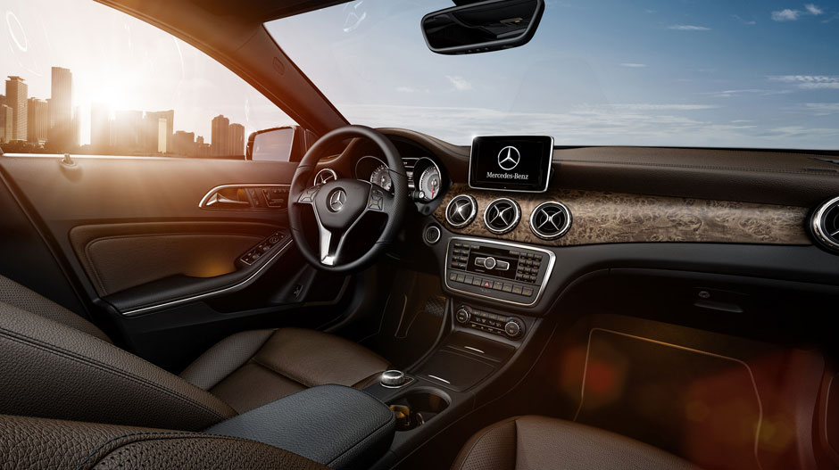 gla-interior mercedes