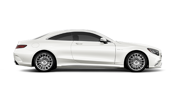 s65 amg coupe side view