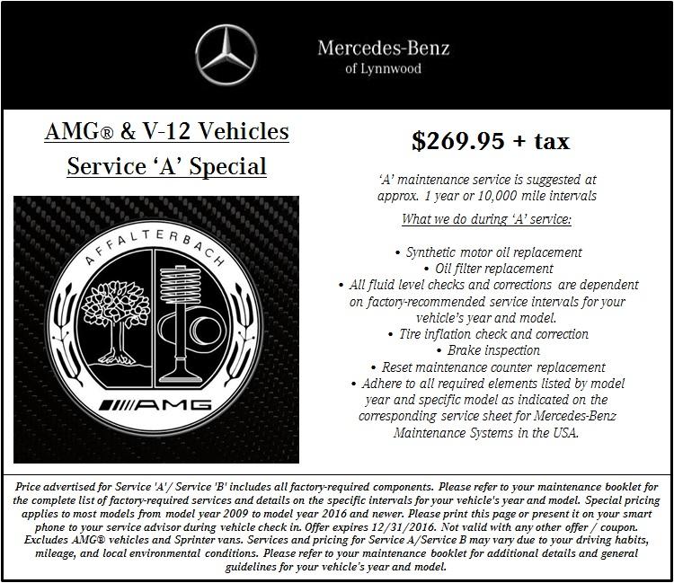Mercedes benz service coupons nj