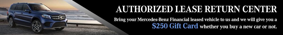 Authorized lease return center mercedes benz of lynnwood for Mercedes benz lease return