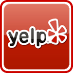 Yelp dot com logo