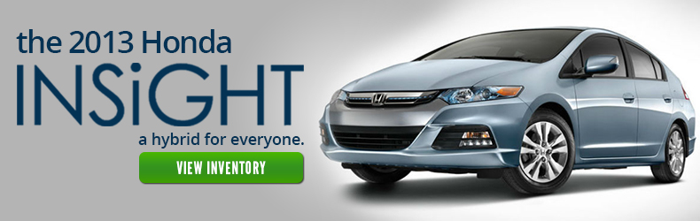 The 2013 Honda Insight