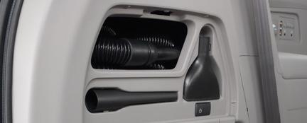Honda Odyssey Built-In Vacuum Cleaner