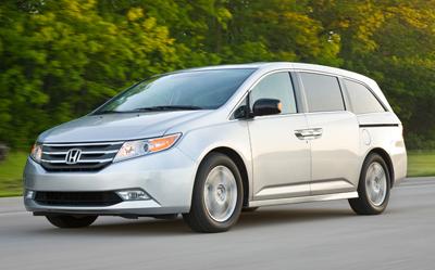 best used minivan