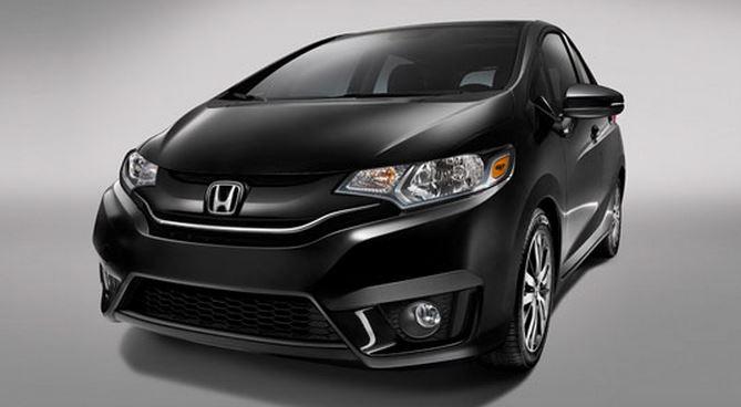 Black Honda Fit