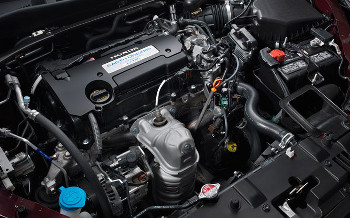 The Standard Engine In The 2013 Honda Accord EX L Is A 2.4L Four Cylinder  That Puts Out 185 Hp And 181 Lb Ft Of Torque; When Paired With A CVT, ...