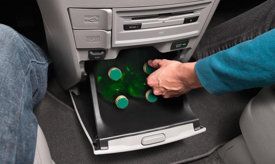 2015 Honda Odyssey beverage storage