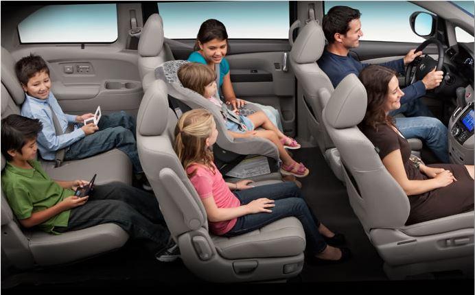 2015 Honda Odyssey Seating