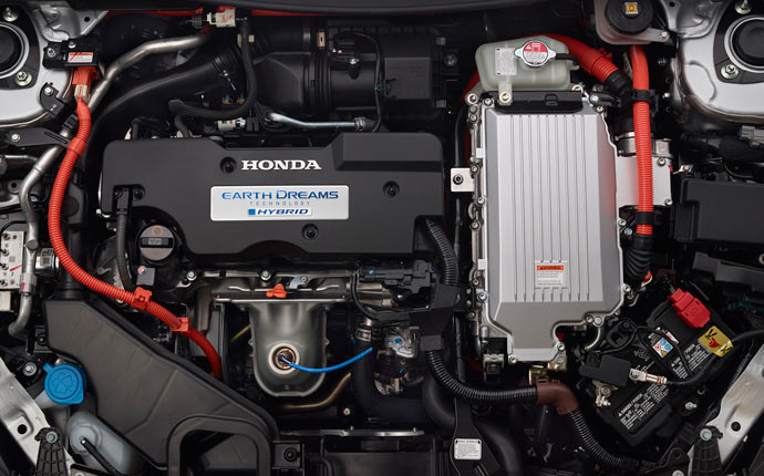 2015 Honda Accord Hybrid engine