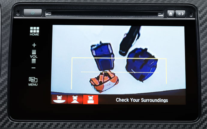 2015 Hond Civic Si Multi-Angle Rearview Camera