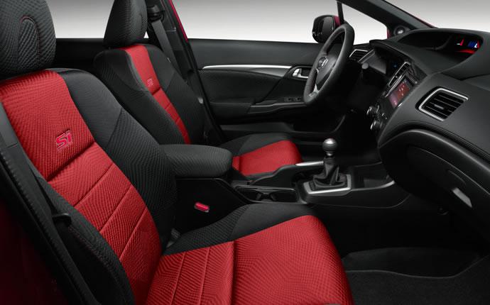2015 Honda Civic Si Interior Cabin