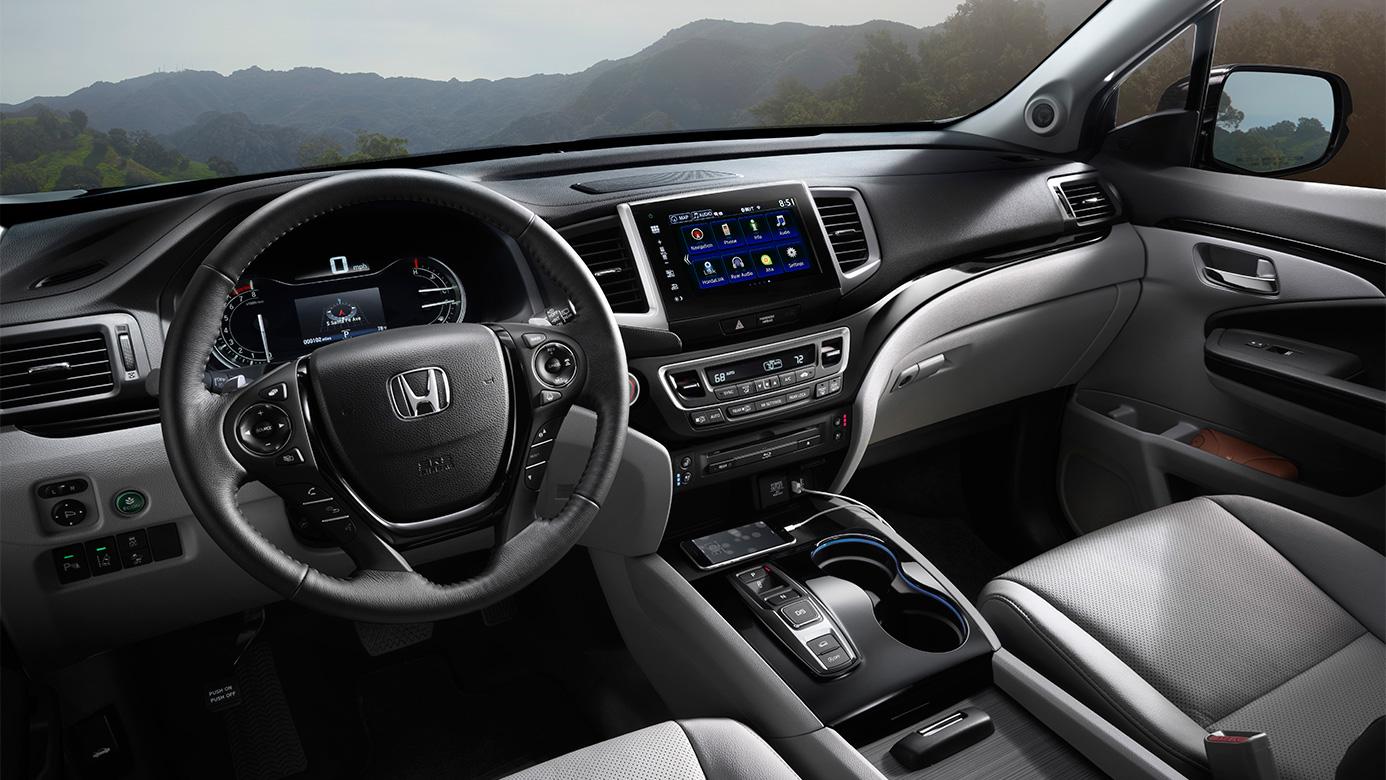 2016 Honda Pilot Interior Cabin