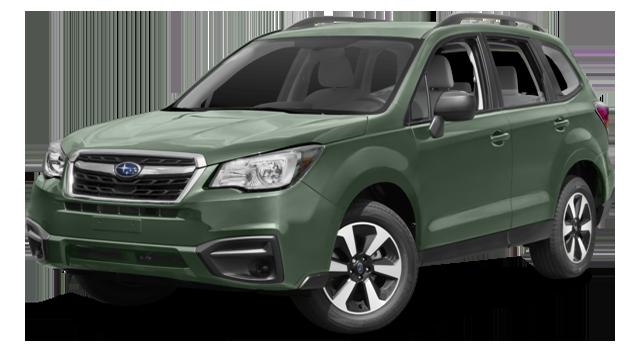 2017 Subaru Forester Green
