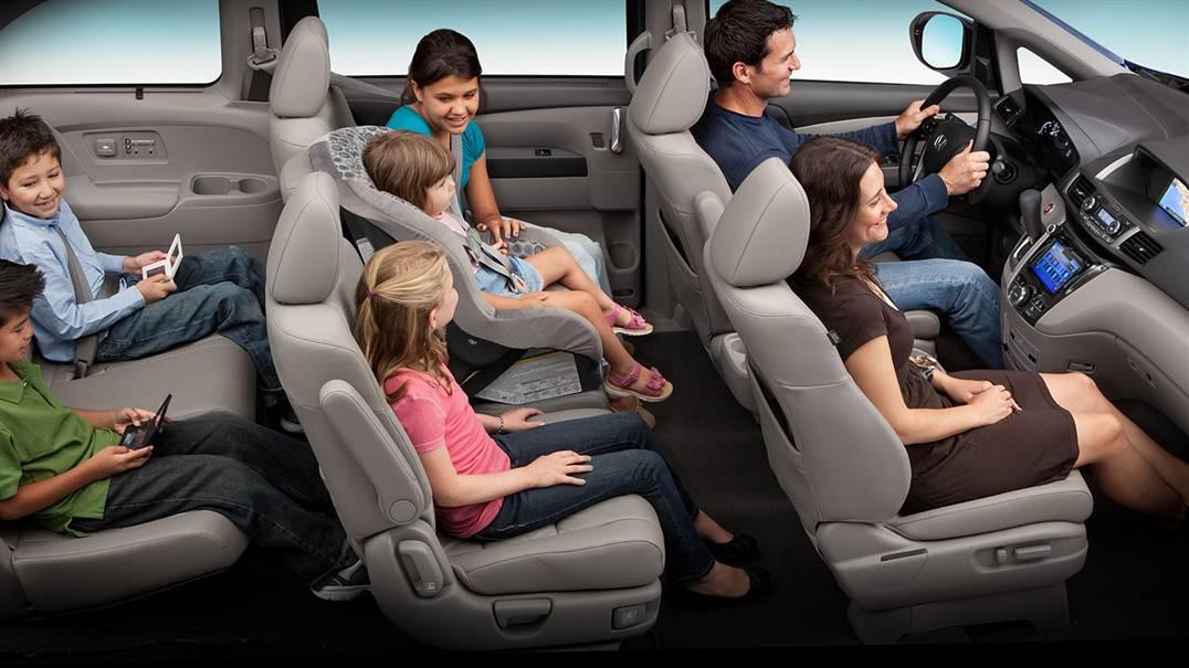 2016 Honda Odyssey Interior