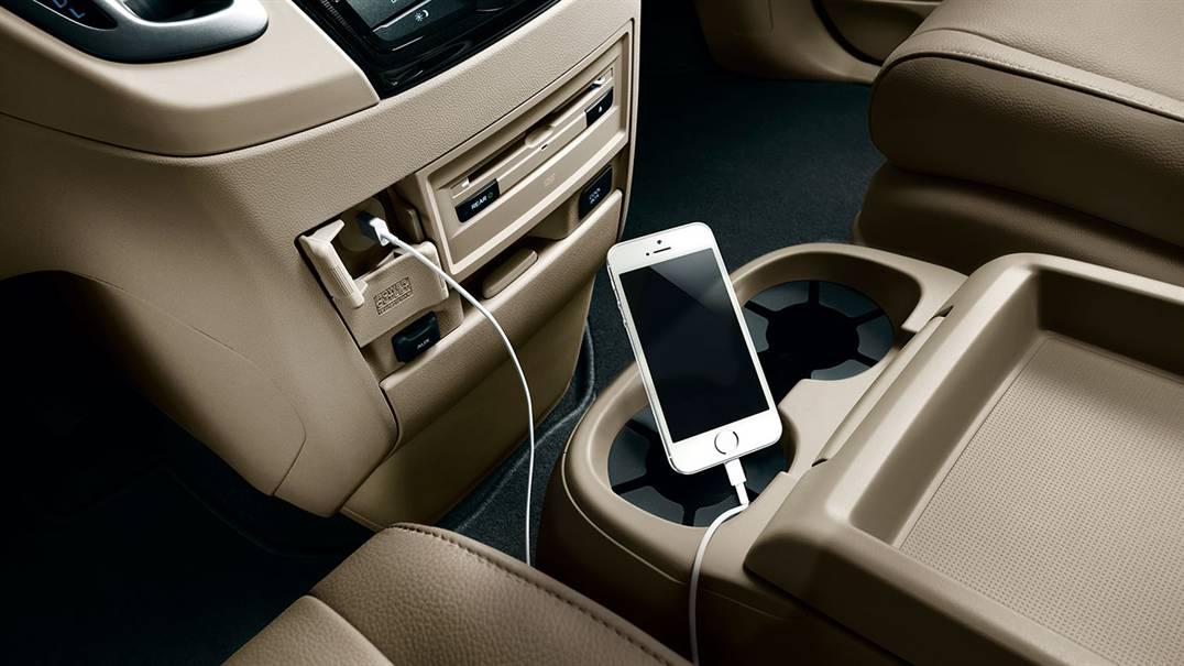 2016 Honda Odyssey USB  Interface