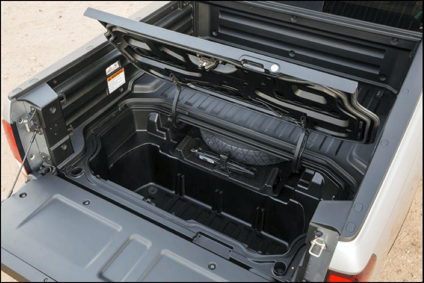 2017 Honda Ridgeline bed