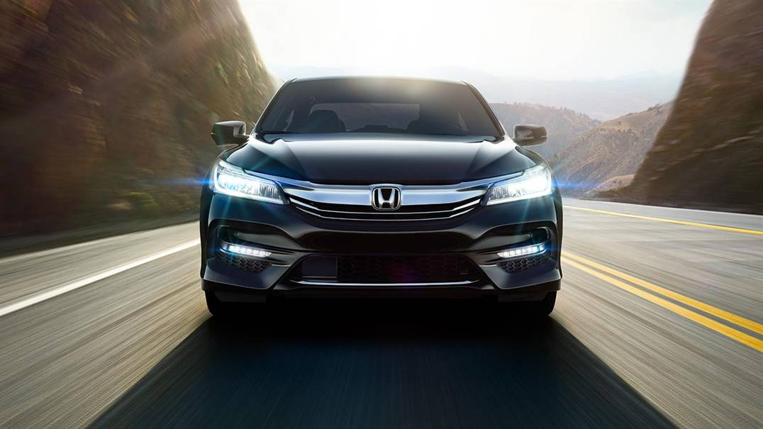 2016 Honda Accord led headlights
