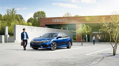 2016 Honda Civic Blue