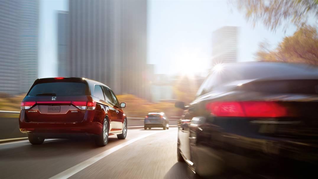 2016 Honda Odyssey rear exterior