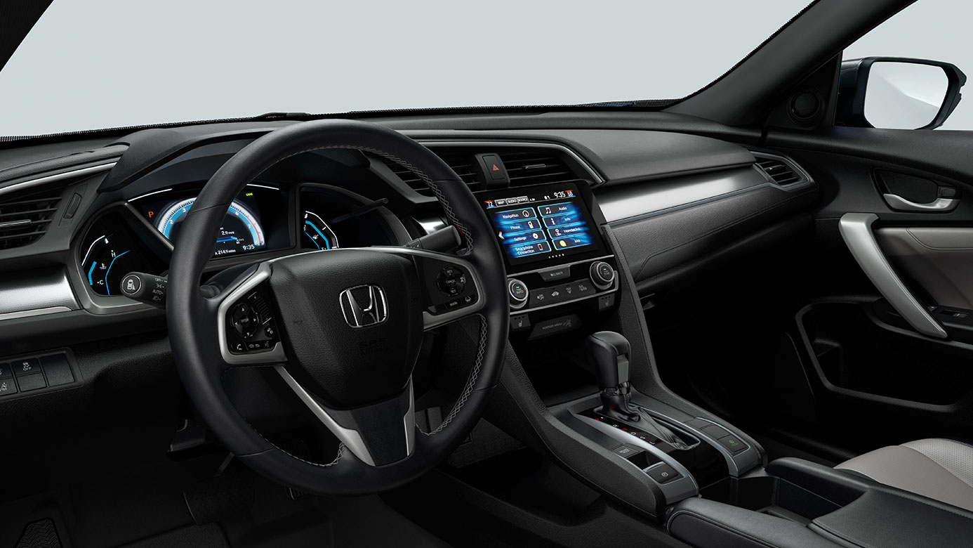 2016 Honda Accord Coupe vs 2016 Honda Civic Coupe