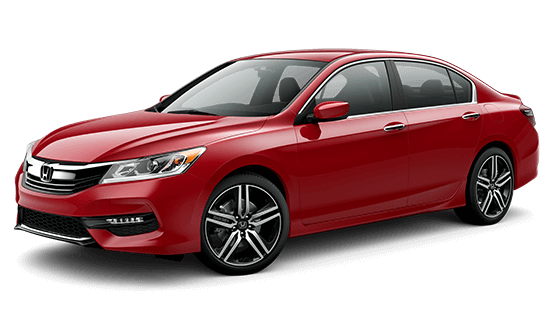 2016 Honda Accord Sport in San Merino red