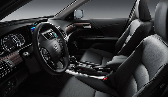 2016 Honda Accord interior cabin