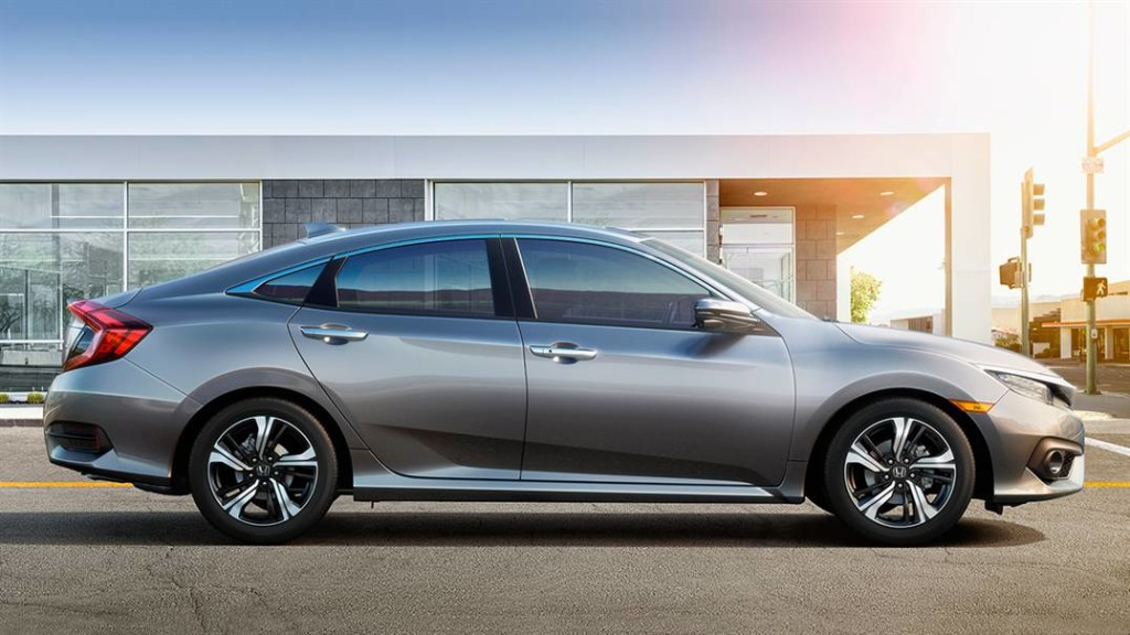 2016 Honda Civic Side