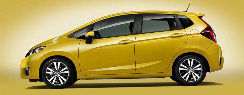 2016 Honda Fit yellow