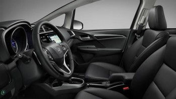 2016 Honda Fit front interior