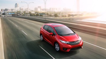 2016 Honda Fit Driving