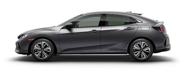 2017 Honda Civic Gray