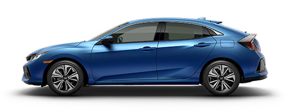 2017 Honda Civic Blue