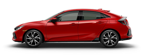 2017 Honda Civic Red