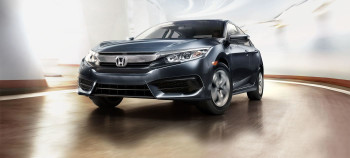 2017 Honda Civic Driving