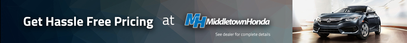 middletown honda hassle free price