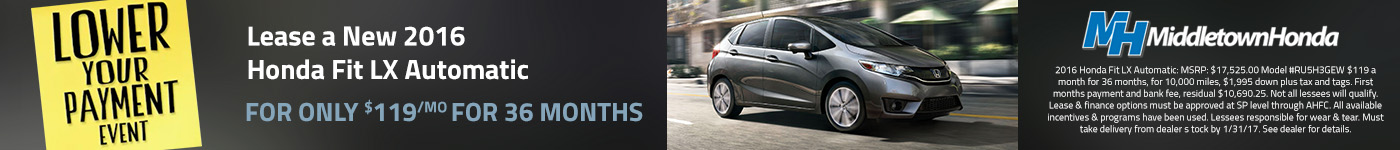middletown honda lower your payment event fit