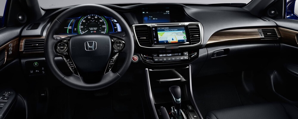 The 2017 Honda Accord Hybrid Interior