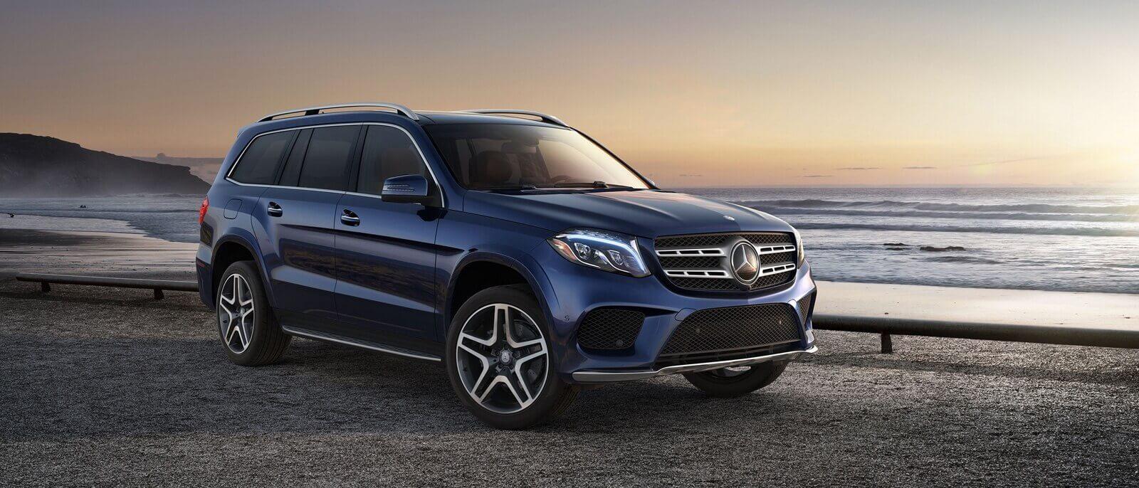 2017 Mercedes-Benz GLS blue exterior