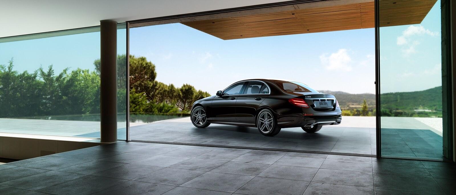 2017 Mercedes-Benz E-Class Sedan side view