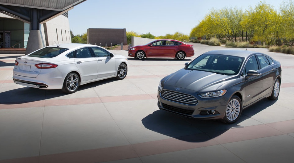 2015 Ford Fusion models