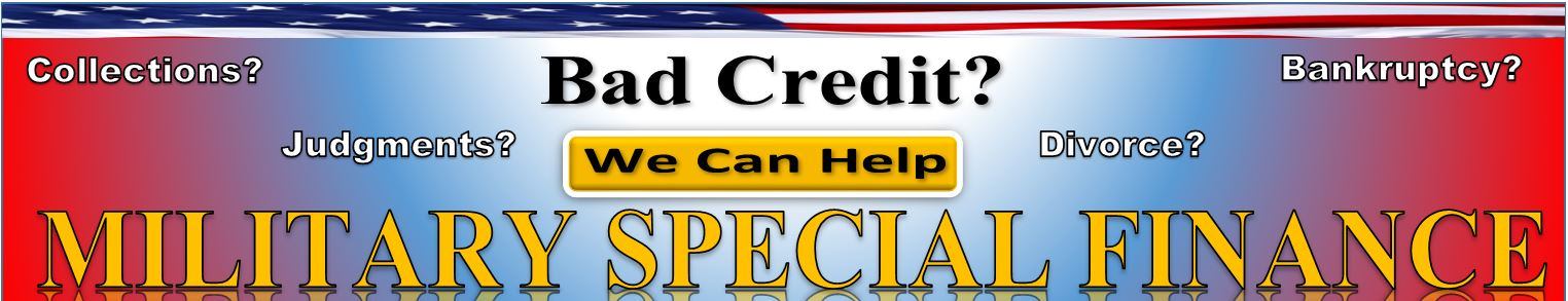 Bad Credit Military Loans >> Military Auto Loans Special Finance Oxmoor Auto Group